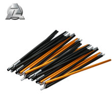 Anodizing flexible telescopic aluminum 7001 tent pole